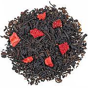 Erdbeer Sahne - Schwarztee-Mischung mit Erdbeerstücken, aromatisiert - FLORAPHARM Pflanzliche Naturprodukte GmbH